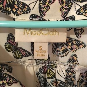Modcloth Tops - ModCloth Butterfly Tank